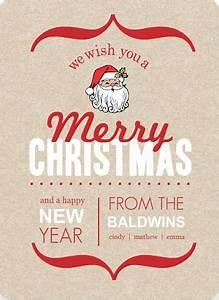 Christmas Card Ideas Text