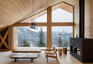 Mountain House Modern Home In Manigod  Auvergne