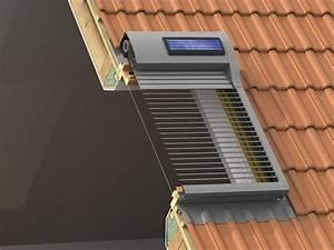 Vorhänge Für Dachflächenfenster : dachfensterrollladen sonnenschutz rolll den baunetz ~ Michelbontemps.com Haus und Dekorationen