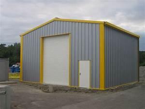 Hangar Metallique En Kit D Occasion : hangar metallique acier galvanise contact francemetal ~ Nature-et-papiers.com Idées de Décoration