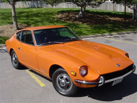 71 Datsun 240z by File Our Restored 71 Datsun 240z Right Front View Jpg