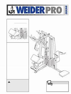 Weider Home Gym Wesy38322 User Guide