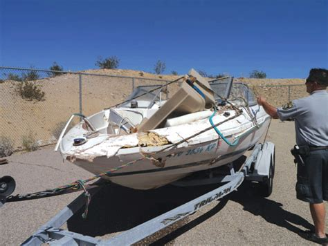 Havasu Boat Crash Yesterday by Investigators Suspect A Factor In Lake Havasu Boat