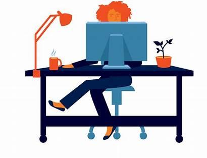 Clipart Job Transparent Desk Background Alorica Remote