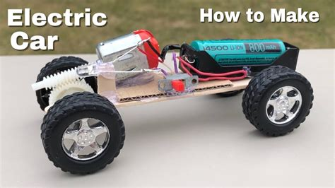 Make Electric Car by Diy Mini Electric Car How To Make A Car