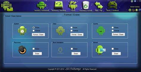 android device manger backup flash root and unroot your device with android