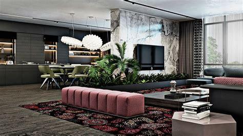 Living Room Apartment Interior Design by Luxury Apartment Interior Modern Luxury Living Room