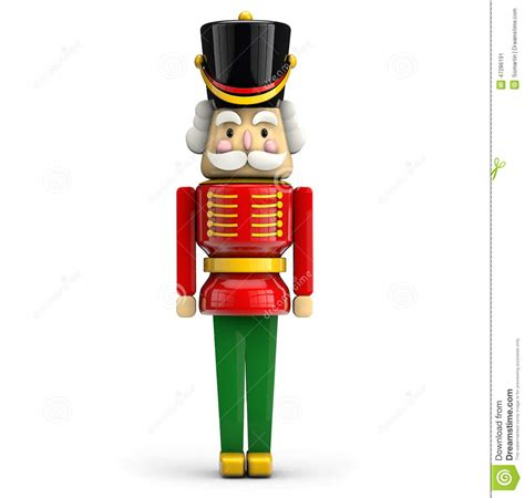 nutcracker christmas soldier symbol stock photo image
