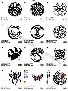 Tatouage Symbole Protection : 48 tattoos 4x4 volume 1 mega embroidery designs on cd ebay ~ Melissatoandfro.com Idées de Décoration