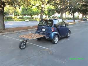 Trailer Swivel Wheel Smart Car