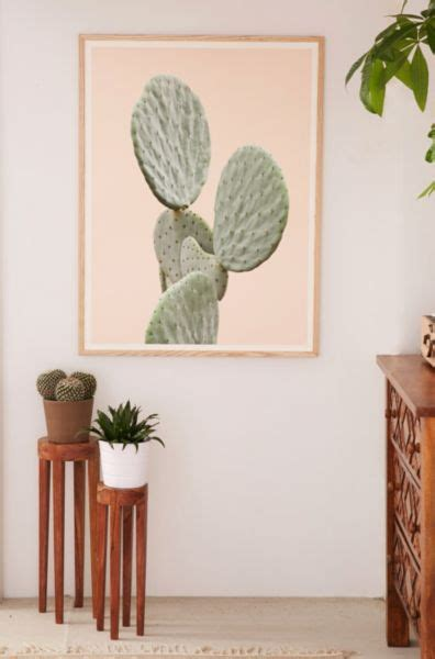 wilder california mountain cactus art print urban outfitters