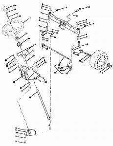 Steering Assembly Diagram  U0026 Parts List For Model 917251511