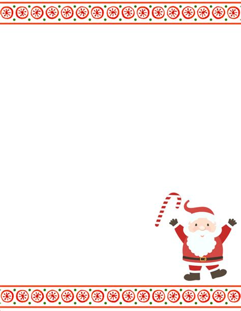 Letter From Santa Template Word Santa Letter Template Free Word Templates