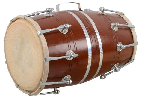 Musical instruments have very important place in indian music. Handmade Wooden Dholak 18 Inch Size Nuts N Bolt With Cover   Buy Dholak Online   Professional ...