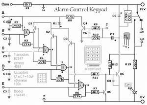 burglar alarm control keypad eeweb community With wiring alarm box
