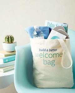 welcome bags 101 With gift ideas for destination wedding guests