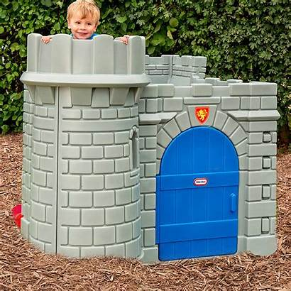 Castle Tikes Playhouse Play Parts Classic Outside