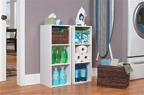 closetmaid  stackable  shelf organizer white color