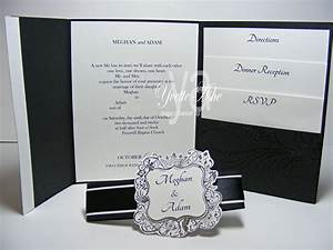 elementary elegance yvette39s paper garden With wedding invitations with inside pocket