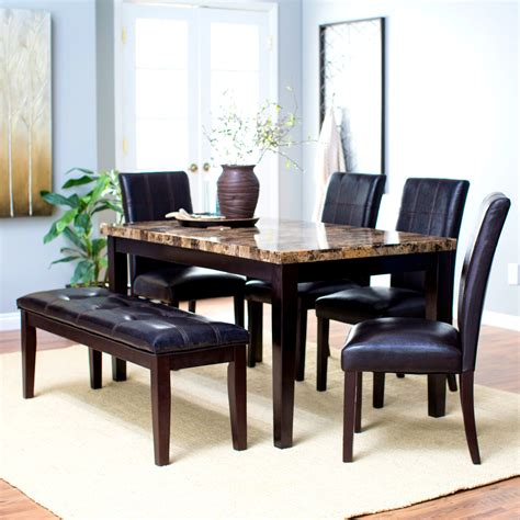 dining table and 6 chairs extendable dining room table with 6 chairs cheap