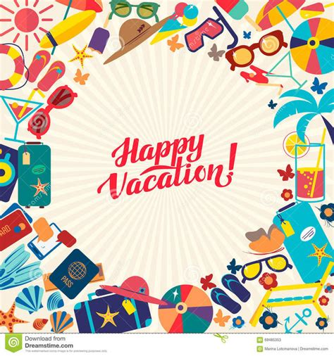 Have A Great Vacation Rest Relax Enjoy Grade 4a