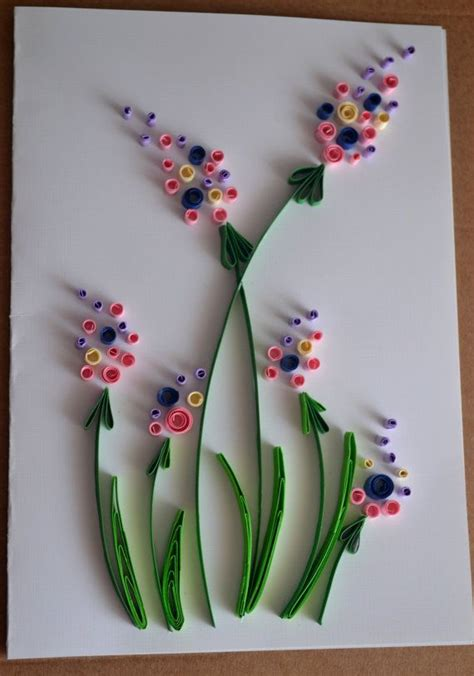 quilled greeting card birthday card mothers