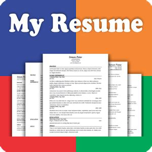 My Resume Builder App by Resume Builder Free 5 Minute Cv Maker Templates Android Apps On Play