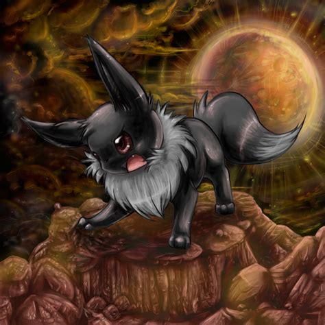 Pokemon Mystery Dungeon Wallpaper Evil Eevee By Shinxity