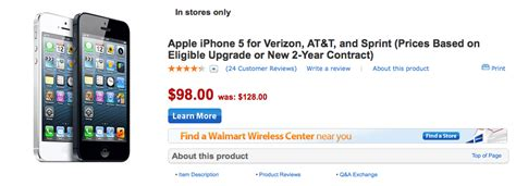 how much is an iphone 5s at walmart walmart cuts iphone 5 price to 98 ahead of the next