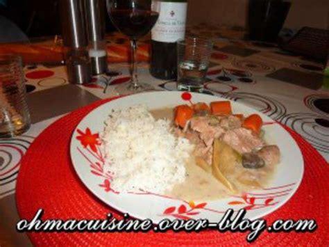 cuisine blanquette de veau recettes de blanquette de veau et mijoteuse