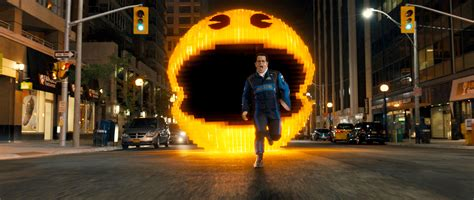 Pixels Gets A First Clip To Celebrate Pac Mans 35th