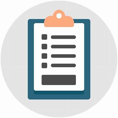 Icon Assessment Checklist Clipboard Quiz Icons Question