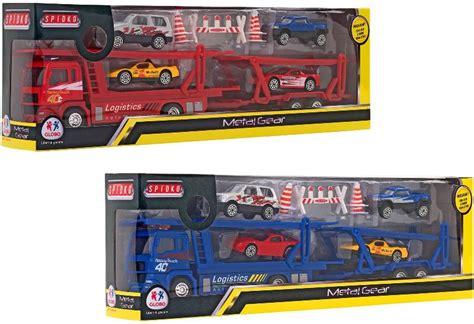 Camion Porta Auto Globo Toys Camion Porta Auto 8014966358442