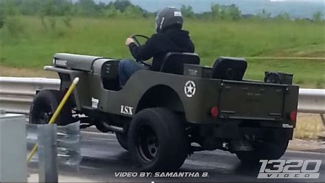 willys jeep lsx 1 000 hp lsx powered jeep willys wheelie gm authority