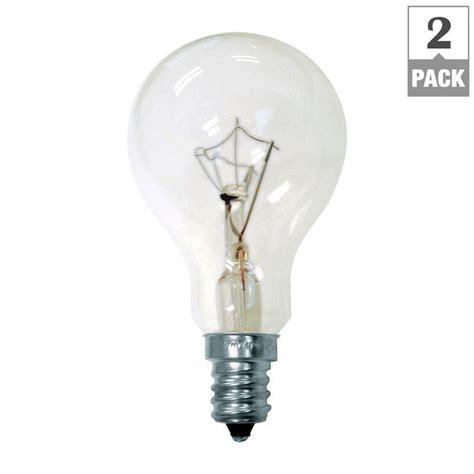 ge 60 watt incandescent a15 ceiling fan candelabra base