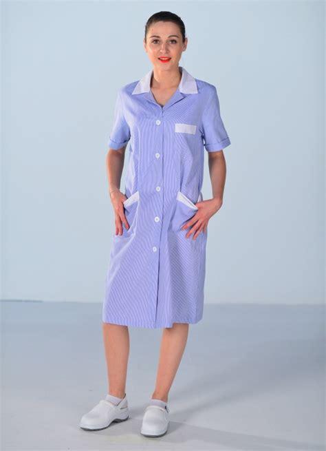 blouse de travail femme de ménage bleue blouse femme de