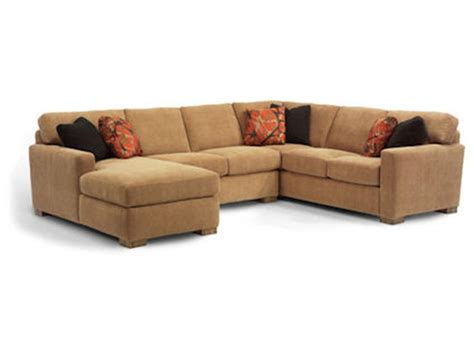 flexsteel living room sectional  sect hickory