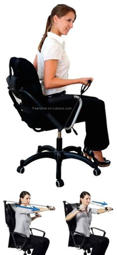 burn calories at your desk exercises you can do at your desk resistance