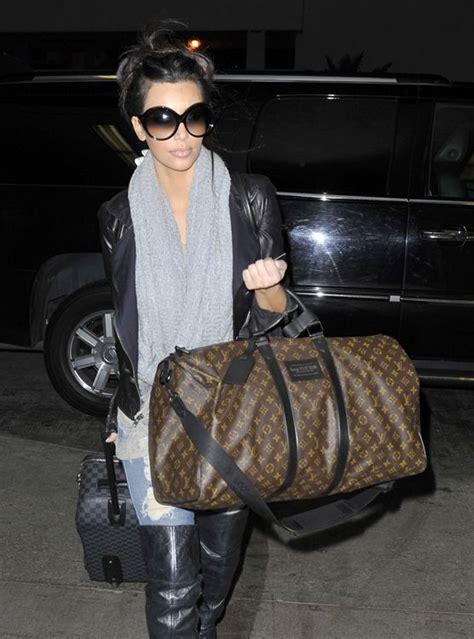 louis vuitton keepall bag  damier graphite pegase suitcase kim kardashian kim kardashian