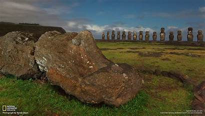 National Easter Island Geographic Moai 10wallpaper Resolution