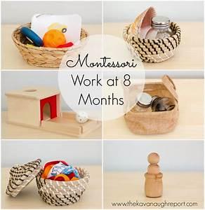 Montessori Spielzeug Baby : montessori work shelves at 8 months ~ Orissabook.com Haus und Dekorationen