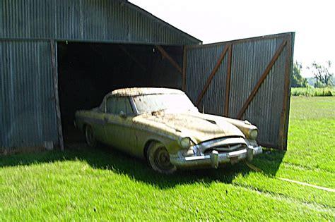 real barn find  studebaker speedster