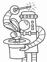 Coloring Pages Robot Office Drawing Robots October Steel Halloween Printable Getdrawings Marvelous Getcolorings sketch template