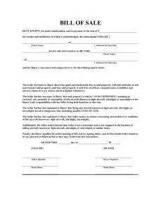 Bill Of Sale Template by Free Bill Of Sale Template Pdf By Marymenti As Is Bill