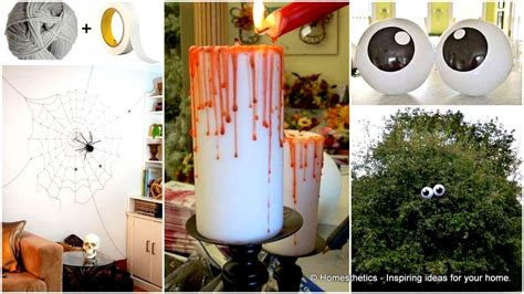 Super Smart Last Minute Diy Halloween Decorations To