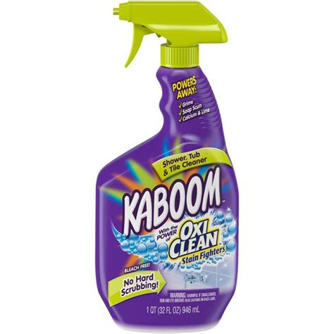Kaboom Bathroom Cleaner Toxic kaboom shower tub tile cleaner hy vee aisles