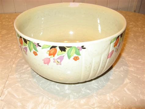 halls kitchenware etsy 39 s superior quality kitchenware mixing bowl by