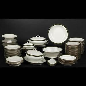 Service De Table Porcelaine : limoges service de table en porcelaine 2011040054 expertissim ~ Teatrodelosmanantiales.com Idées de Décoration