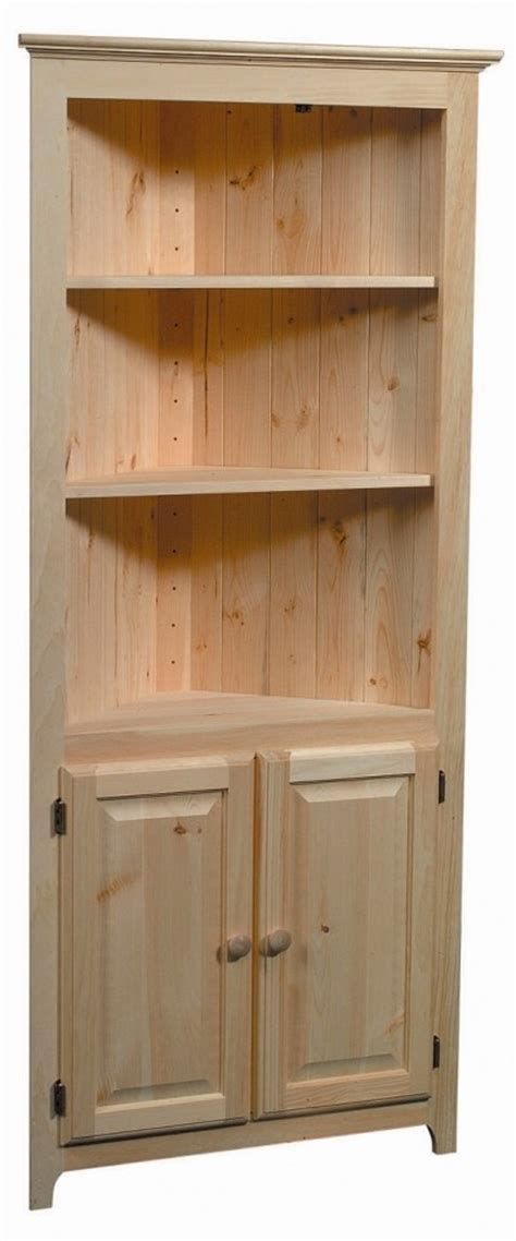 Unfinished Pine Bathroom Wall Cabinet by Unfinished Corner Cabinet Newsonair Org
