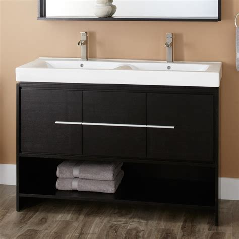 modern bathroom vanity ideas bathroom black bathroom vanity with brown wooden floor